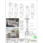 Balustrades example